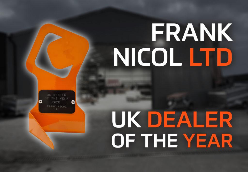 UK Dealer of the Year - Frank Nicol Farm and Garden Machinery Ltd